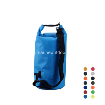 Outdoor Sports 500D PVC Durable 10L Waterproof Transparent Dry Bag